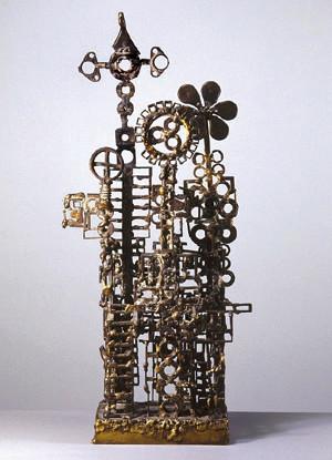 Het plastiek van Jan Wolkers, onderdeel van de prijs